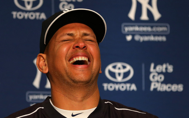 A-Rod liked by headline pun. (Presswire)