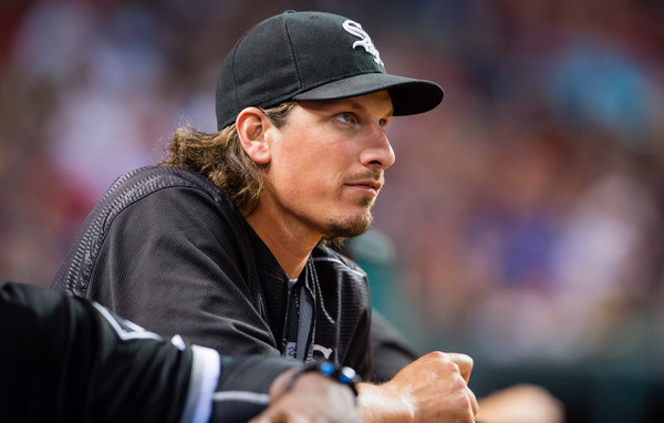 Samardzija. (Jason Miller/Getty)