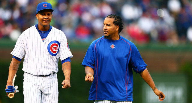 Starlin ... and Manny! (Presswire)