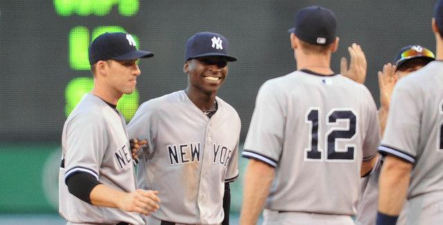"""Alright guys, three runs, great game!"" (Presswire)"