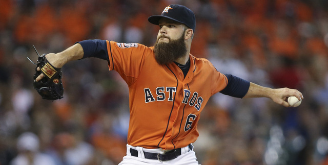 Keuchel is a great pitcher with a terrible beard. (Presswire)