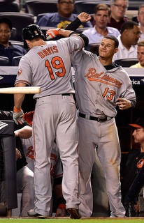 Davis & Machado. (Steven Ryan/Getty)
