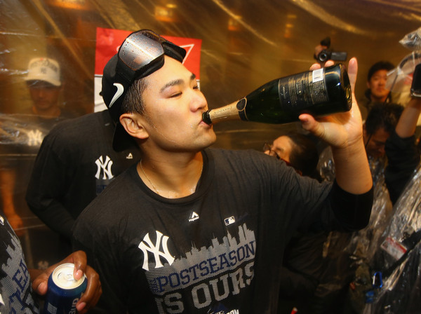 But that's none of Tanaka's business. (Al Bello/Getty)