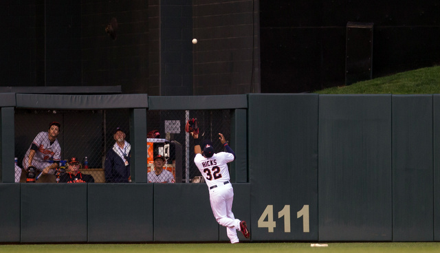 This ball was caught. (Presswire)