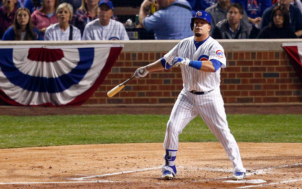 He looks like a Schwarber. (David Banks/Getty)