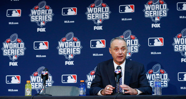 Rob Manfred. (Kyle Rivas/Getty)
