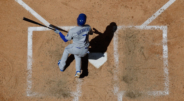 Guerrero. (Christian Petersen/Getty)