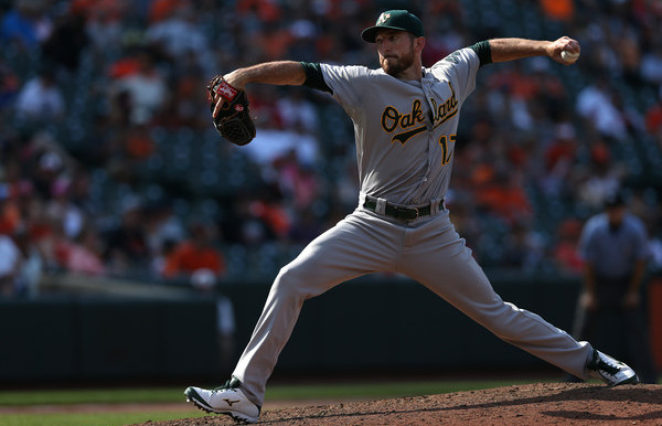 Another lefty relief option. Wait, what? (Patrick Smith/Getty)