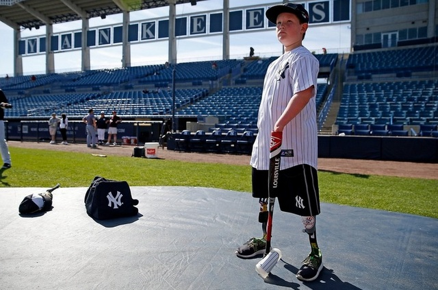 Landis Sims. (Photo via @YankeesPR)