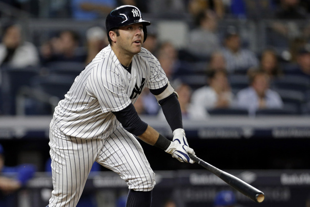 The Yankees could pull someone out of the stands and turn him into a good hitting backup catcher, it seems. (Presswire)