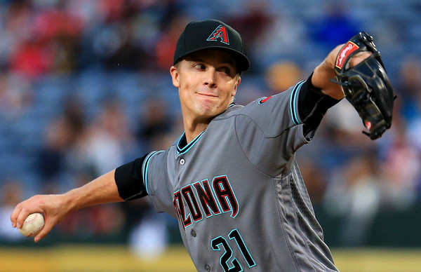 Greinke. (Daniel Shirey/Getty)