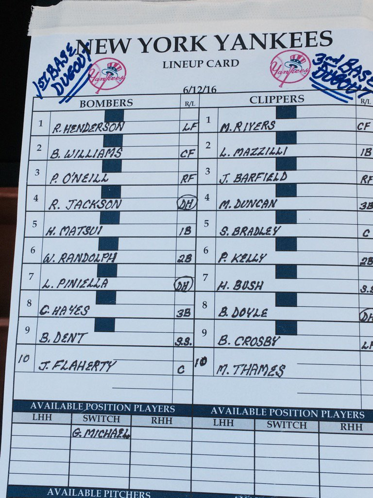 Old Timers' Day lineup