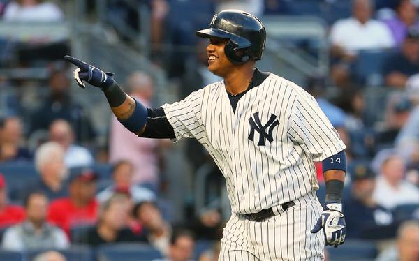 Starlin Castro Yankees