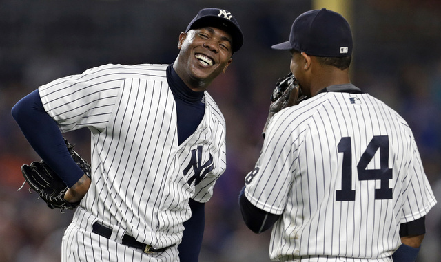 Is Aroldis Chapman worth four Chicago Cubs?