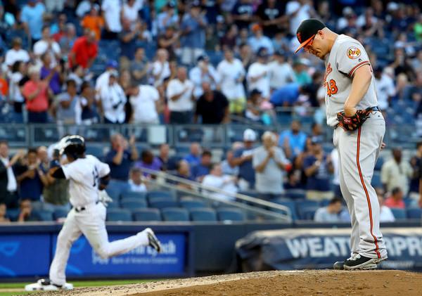 Rodriguez hits No. 696; Nova, 'pen pitch Yanks over O's 2-1