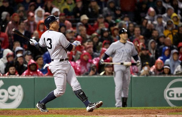 Sock just one more dinger, Al. Please. (Adam Glanzman/Getty)