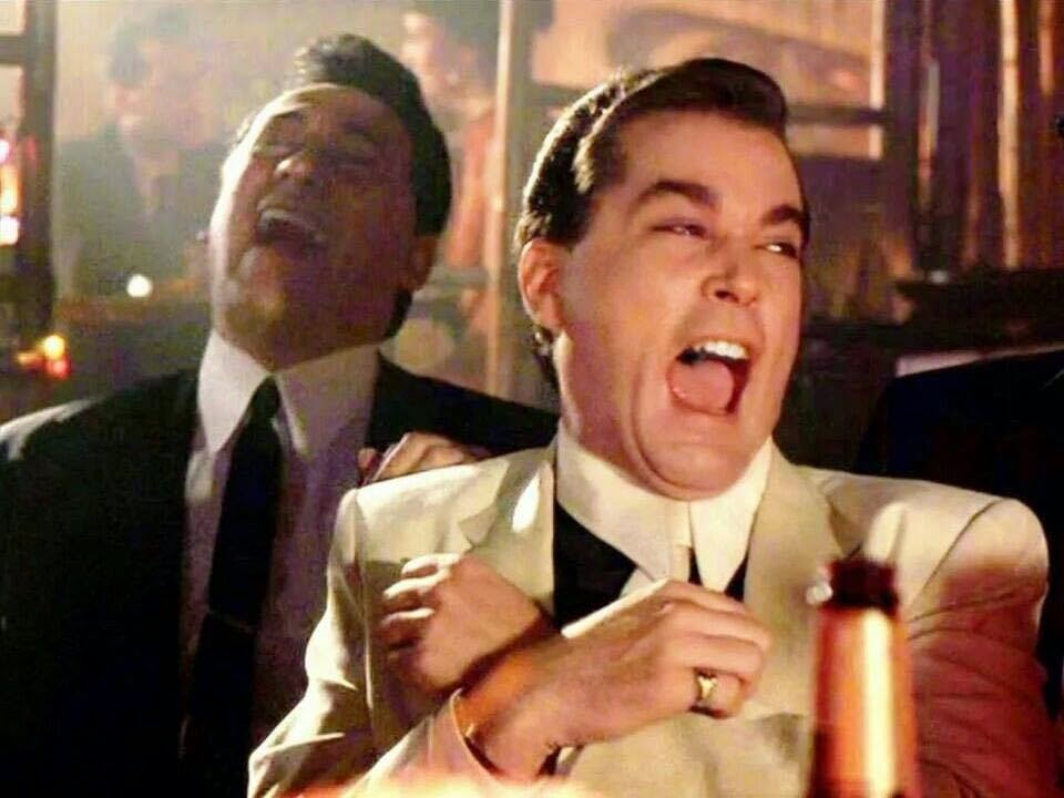 Goodfellas laugh