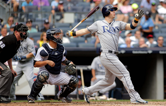Rays Avoid Sweep, Power Past Yankees