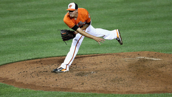 Kevin F. Gausman. (Rob Carr/Getty)