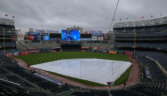 Royals-Yankees game postponed Thursday, rescheduled for Sept. 25
