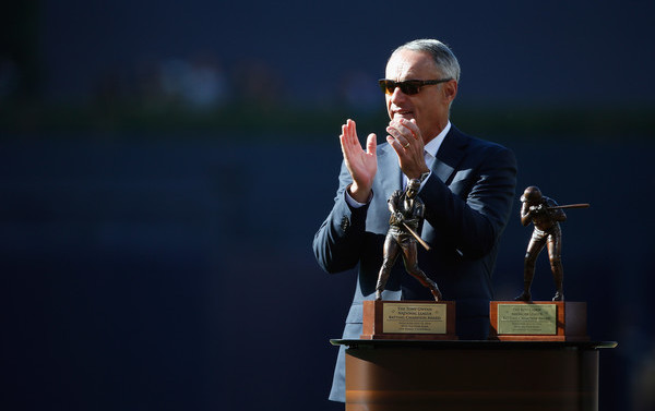 The Commish. (Todd Warshaw/Getty)