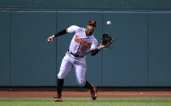Adam Jones needs some help. (Adam Glanzman/Getty)