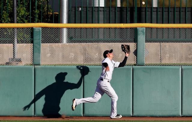 Tyler Wade, outfielder. (Presswire)