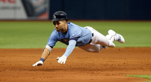 Kiermaier. (Brian Blanco/Getty)