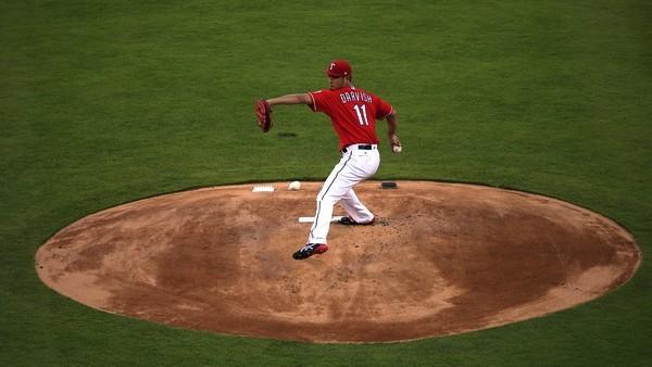 Darvish. (Ron Jenkins/Getty)
