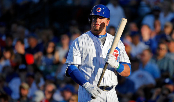 Schwarber. (Jon Durr/Getty)