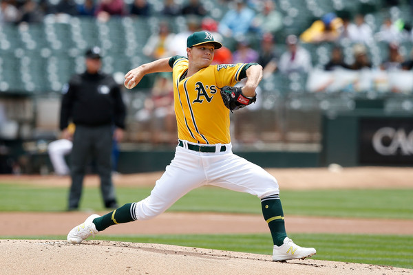 Sonny Gray. (Lachlan Cunningham/Getty Images)