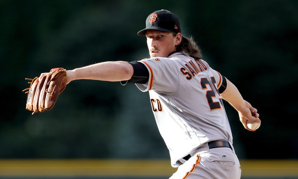 Samardzija. (Matthew Stockman/Getty)