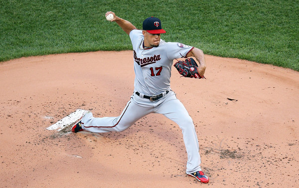 Berrios. (Adam Glanzman/Getty)