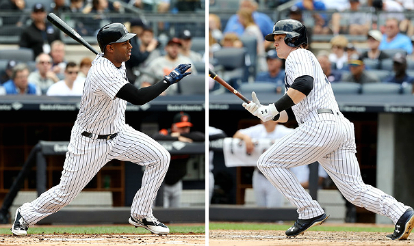 Hicks and Frazier (Elsa/Getty Images)