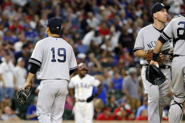 Judge, Sanchez 2 homers each in Yankees' 16-7 win at Texas