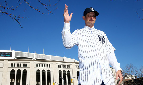 Yankees To Officially Introduce Aaron Boone As Manager