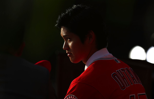 Ohtani (Joe Scarnici/Getty)