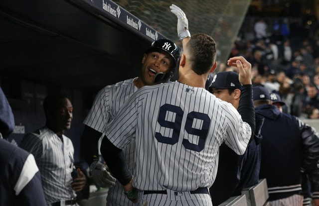Andujar, Stanton and Torres Shine in Yankees Rout