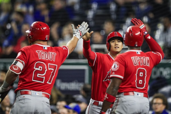 Shohei Ohtani day-to-day with left ankle sprain