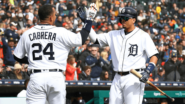 Miggy and Victor. Do you recognize any other Tigers