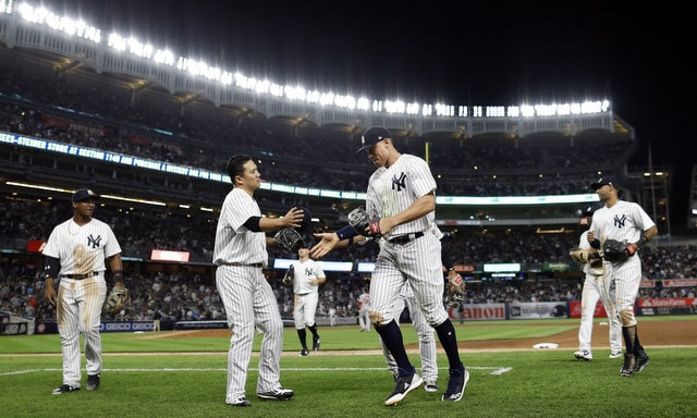 New York Yankees claim first place in AL East