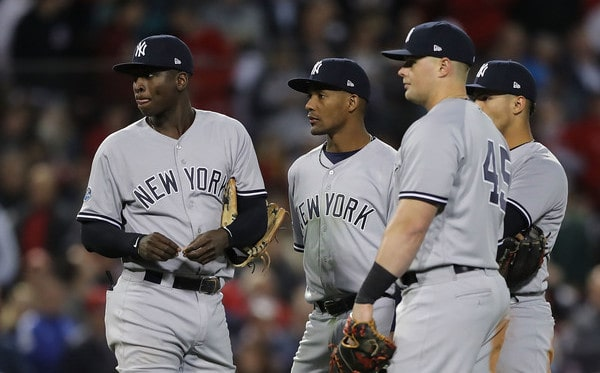 Yankees make Price pay to square ALDS at a win apiece