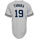 Masahiro Tanaka Replica Jersey, Road Gray