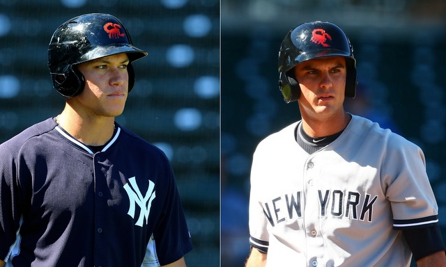 Judge and Bird in the Arizona Fall League. (Presswire)