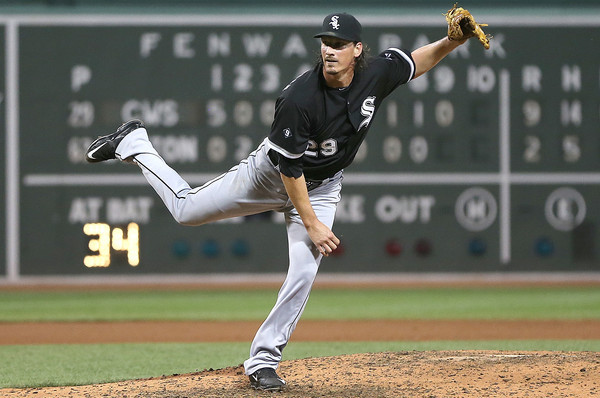 Samardzija. (Jim Rogash/Getty)