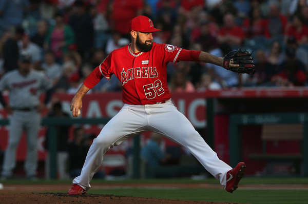 Matt Shoemaker. (Stephen Dunn/Getty Images)